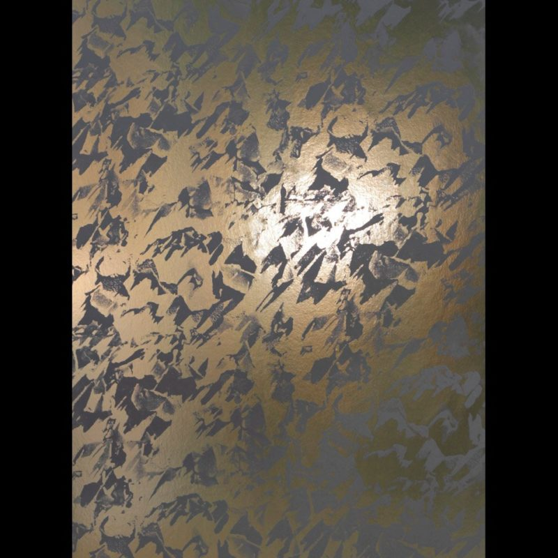 Desert gold shadow grey wallpaper