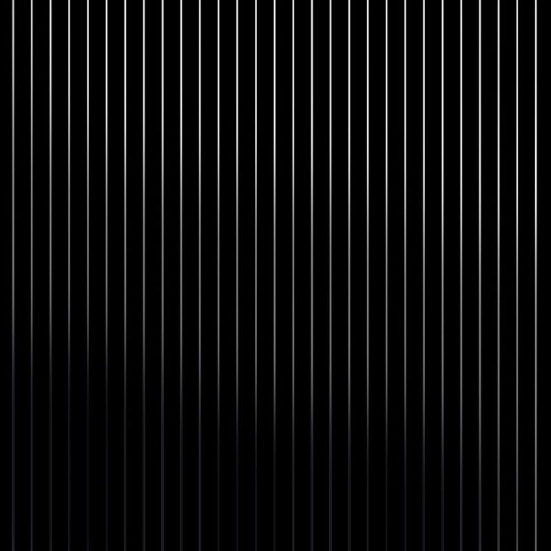 Pinstripe silver black stripe wallpaper